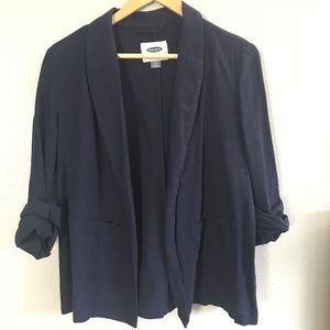 Old Navy Linen Blazer